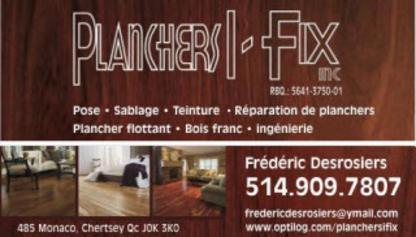 Planchers I Fix Inc - Pose et sablage de planchers - 514-909-7807