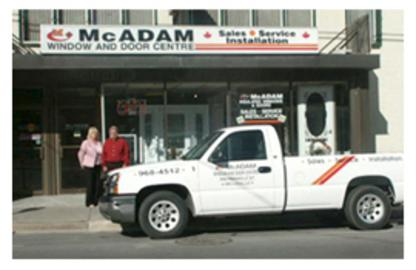 McAdam Window And Door Centre - Windows