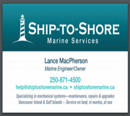 Ship to Shore Marine Services - Boat Repair & Maintenance