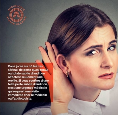 Audiologie Avenir Hearing - Audiologistes - 506-206-6003