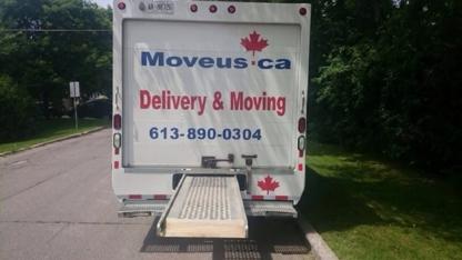 Moveus.ca - Déménagement et entreposage - 613-890-0304