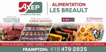 Marché Axep Frampton Alimentation Les Breault - Grocery Stores - 418-479-2825