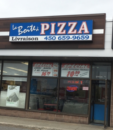 La boîte à Pizza - Pizza & Pizzerias