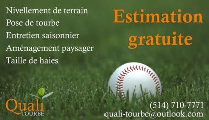Aménagement Quali Tourbe - Paysagistes et aménagement extérieur - 514-710-7771