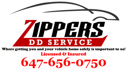 Zippers DD Designated Driver Service - Services de transport - 647-656-0750