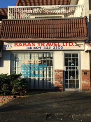 Babas Travel - Travel Agencies - 604-325-3303