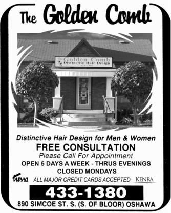 The Golden Comb - Barbers - 905-433-1380