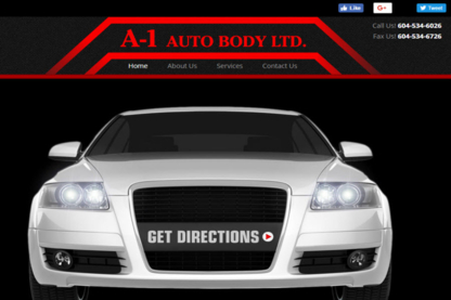 A-1 Auto Body Ltd - Auto Body Repair & Painting Shops - 604-534-6026