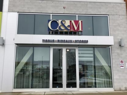 View C & M Textiles's Montréal profile