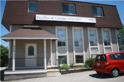 Peaches & Cream Salon Spa - Laser Hair Removal - 705-327-3224