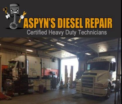 Aspyn's Diesel Repair Inc. - Entretien et réparation d'autobus, autocars et minibus