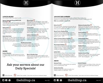 Hilltop Grill & Beverage Company - Pubs - 506-458-9057