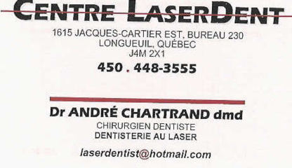 Centre Laserdent - Traitement de blanchiment des dents - 450-448-3555