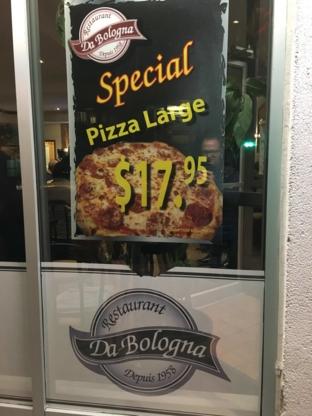 Pizzeria Da Bologna - Restaurants italiens - 514-321-8361
