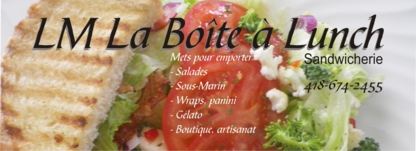 LM La Boîte à Lunch - Bistros - 418-674-2455