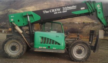 The Crew Telehandler Sales & Rentals - Material Handling Equipment