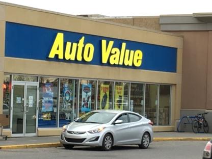 Auto Value Parts Stores - 403-291-4500