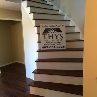 Thys Construction Ltd - Floor Refinishing, Laying & Resurfacing - 403-651-6338