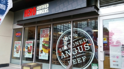 Hero Certified Burgers - American Restaurants - 647-748-4376