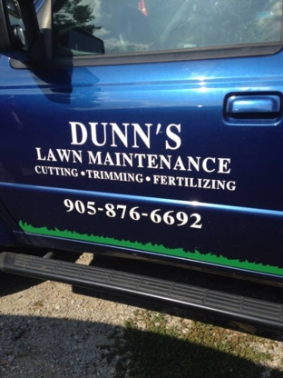 Dunn's Lawn Maintenance - Lawn Maintenance - 905-876-6692