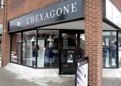 L'Hexagone Menswear Inc - Magasins de vêtements pour hommes - 613-562-0062