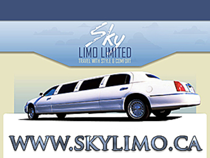 Sky Limo Limited - Limousine Service - 647-729-4588