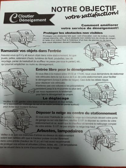 Voir le profil de Déneigement Cloutier - Saint-Jérome