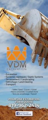 VDM Excavation - Paysagistes et aménagement extérieur