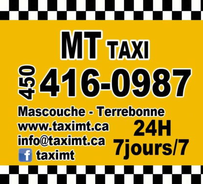 Taxi MT - Taxis - 450-416-0987