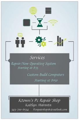 Ktown's PC Repair Shop - Computer Repair & Cleaning - 613-209-4786