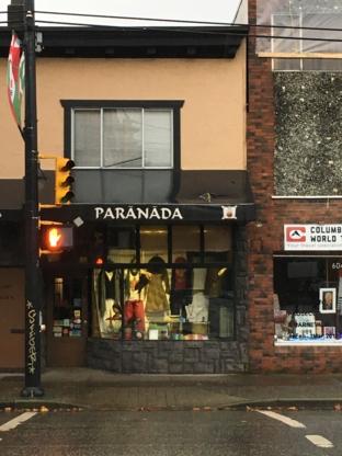 Paranada Co - Boutiques de cadeaux - 604-255-3600