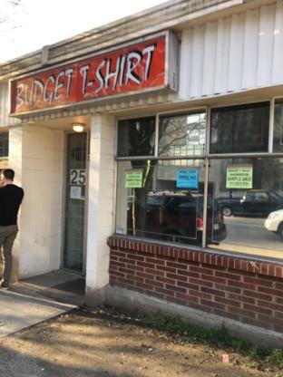 Budget-T Shirts Ltd - T-Shirts - 604-874-1800