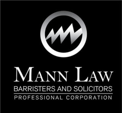 Mann Law - Personal Injury Lawyers - 905-565-5770