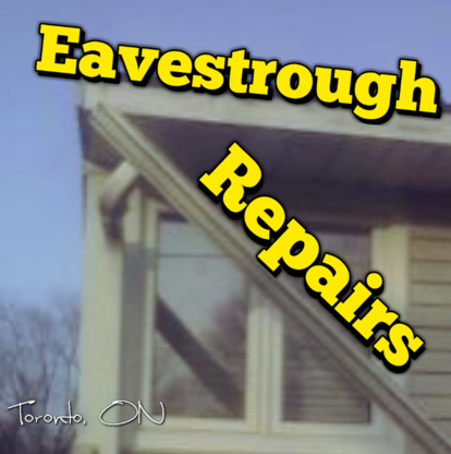 Steps Window Cleaning - Eavestroughing & Gutters