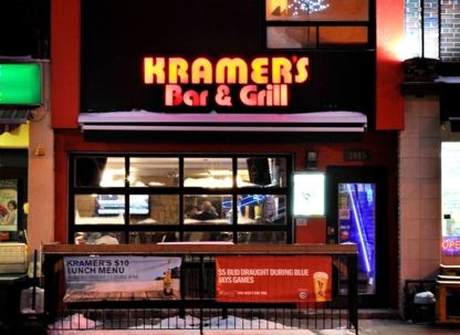 Kramer's Bar & Grill - Restaurants - 416-483-0697