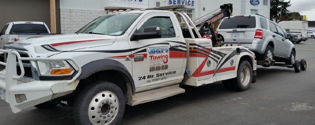 Walts Towing & Automotive Services - Vehicle Towing