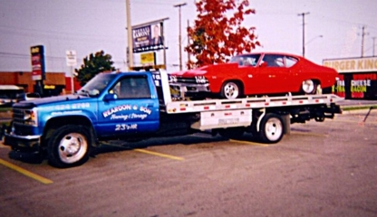 Reardon and Son Towing / Storage Inc - Vehicle Towing - 905-424-2768