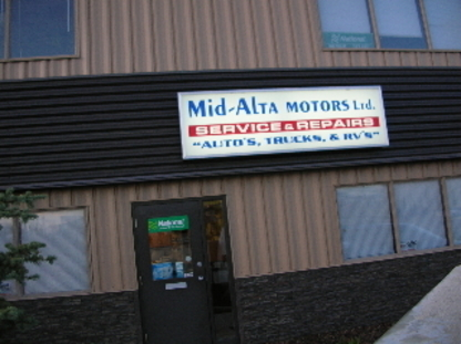 Mid-Alta Motors Ltd - Car Repair & Service - 403-343-3612