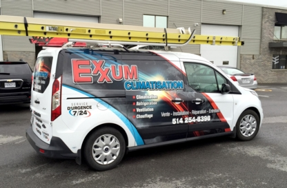 Exxum Climatisation - Air Conditioning Contractors - 514-254-8398