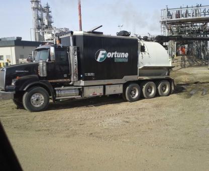 Fortune Oilfield Construction Ltd - Hydrovac Contractors - 306-825-4166