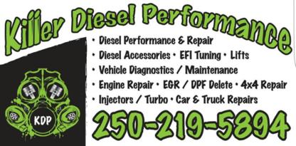 Killer Diesel Performance Ltd - Car Repair & Service