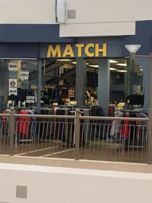 Match - Magasins de vêtements pour hommes