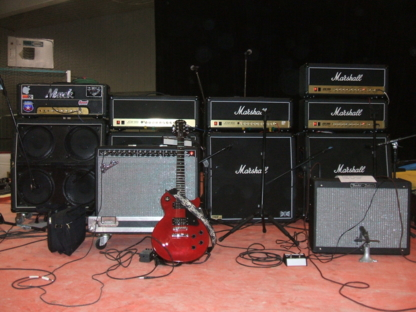 Mainstage Backline - Musical Instrument Stores