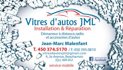 Vitres D'autos JML - Pare-brises et vitres d'autos - 450-374-5170