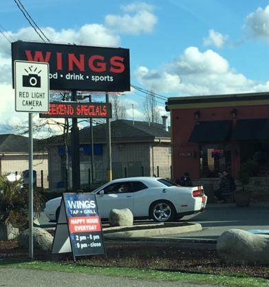Wings Tap & Grill - Restaurants - 604-510-3090