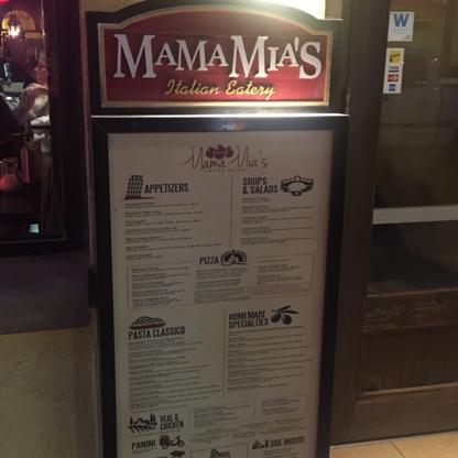Mama Mia's Italian Restaurant - Italian Restaurants - 905-354-7471