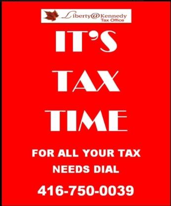 Liberty At Kennedy - Tax Return Preparation - 416-750-0039
