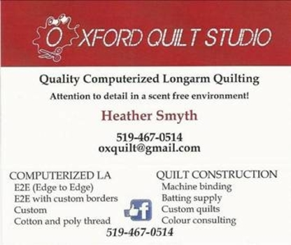 Oxford Quilt Studio - Quilts & Quilting Supplies - 519-467-0514