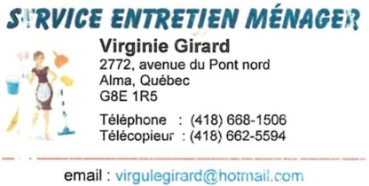 Service entretien ménager Virginie Girard - Chartered Professional Accountants (CPA)
