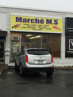 Marché M S - Poissonneries - 514-624-4035